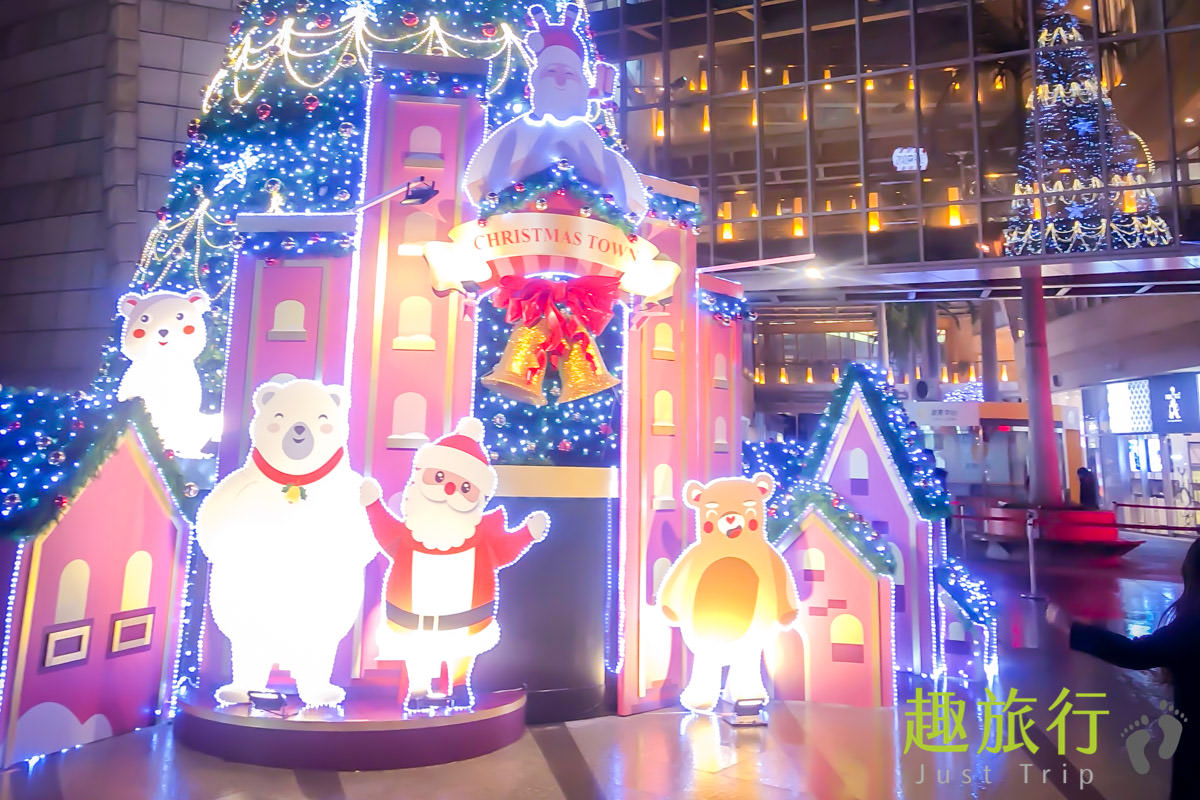 2017 耶誕城 台北 中山 熊熊主題 耶誕村 美麗華百樂園 12米高 耶誕樹