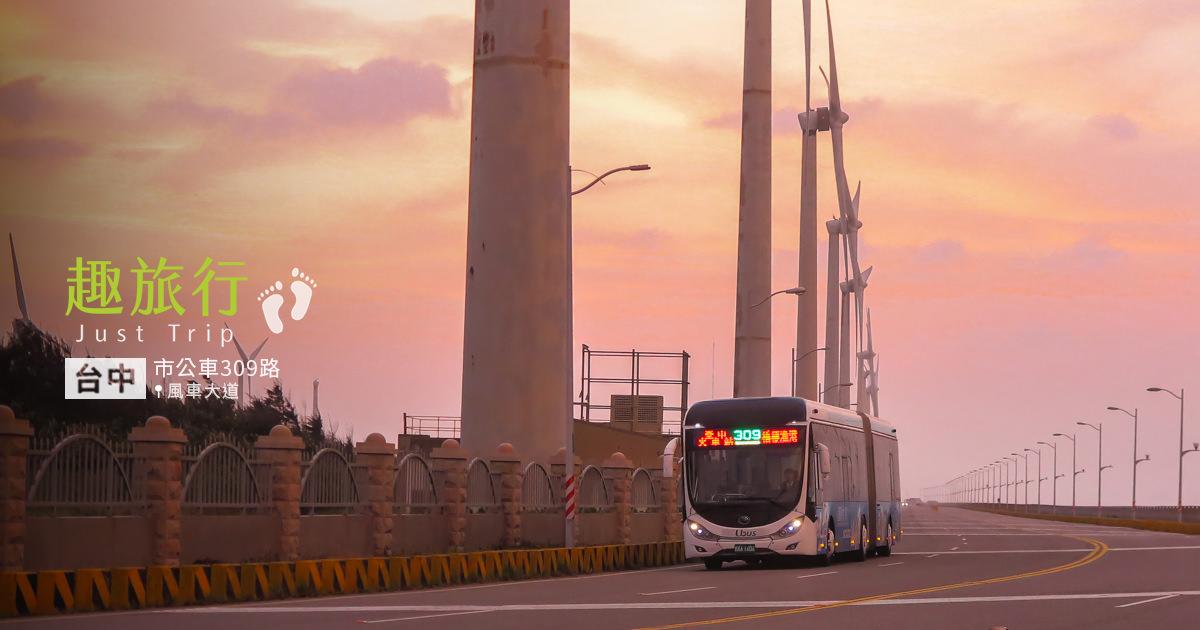 台中市 市區直達高美濕地公車 309路
